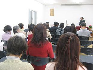 8月の定期集会のイメージ
